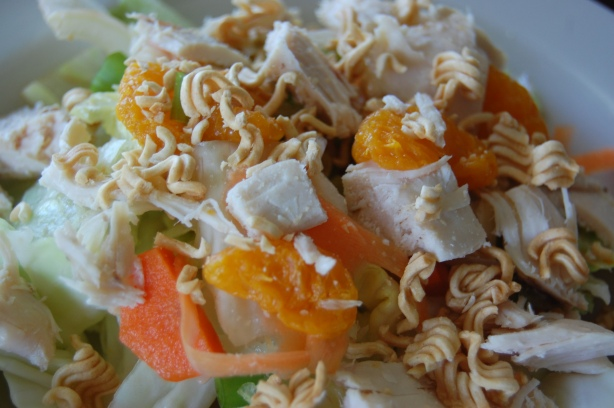 Chinese Chicken Salad with Mandrin Oranges