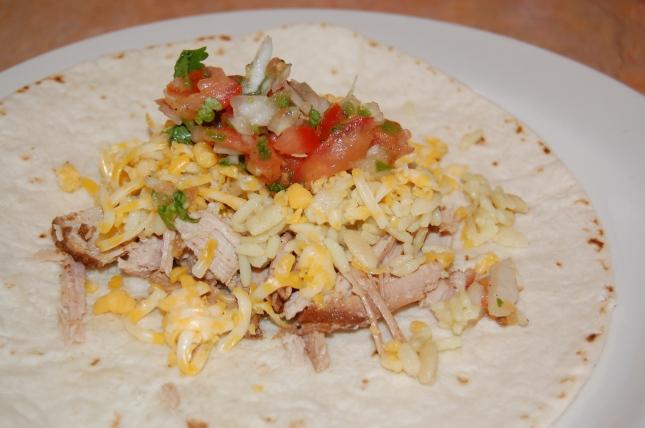 Shredded Pork Taco
