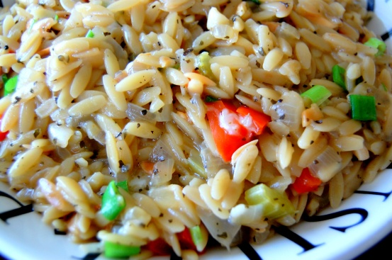 Orzo side dish or meal