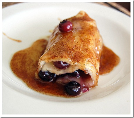 Apple Blueberry Enchilada